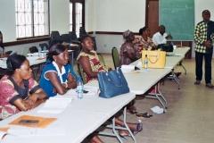 Facilitateur et Participants formation sur les ordinigrammes