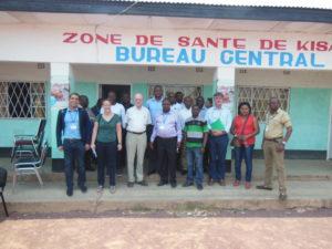 Atelier de lancement des ZAR, visite de terrain à la Zone de santé Kisanga