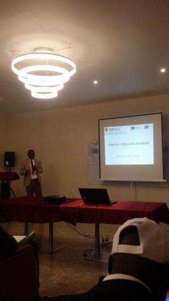 Congrès Kolwezi: Présentaion RIPSEC