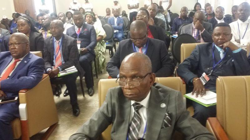 Congrès Kolwezi: participants