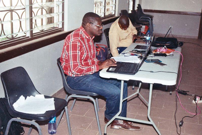Correction de prés et post test par les facilitateurs
