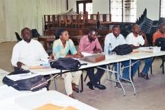Participants formation sur les ordinigrammes