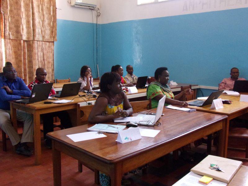formation sur l'écriture scientifique: Participants
