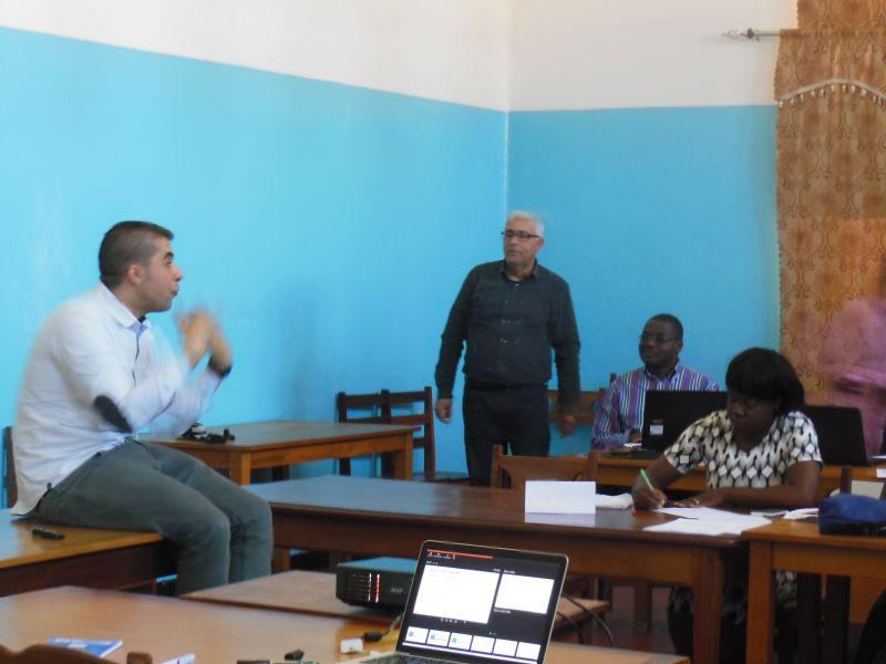formation sur l'écriture scientifique: Facilitateurs et participants