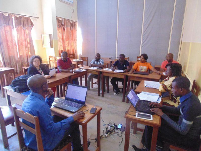Atelier recherche action travaux de groupe CS Tshiamilemba