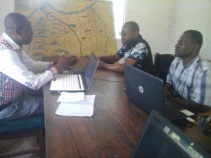 Entretient des apprenants de l'ESP Kinshasa avec les membres de l'ECZS de la ZS de Gombe Matadi