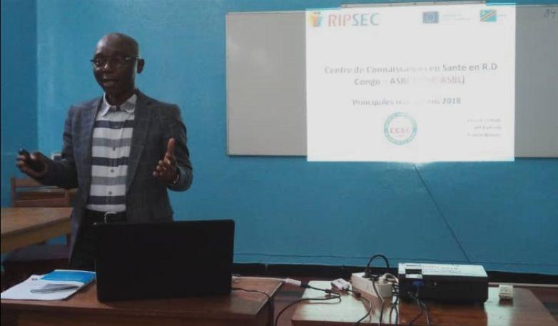 Semaine RIPSEC:Présentation des réalisations du CCSC